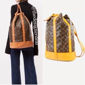 💯%🔥Authentic LOUIS VUITTON GM Monogram Backpack